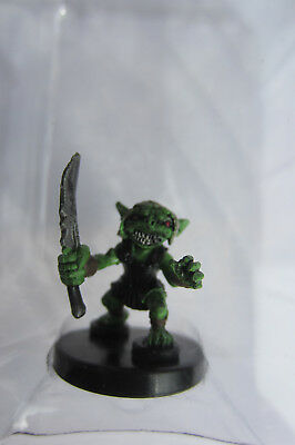 Pathfinder Battles Miniatures Goblin Warrior 1/12  D&d We Be Goblins