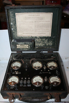 Vintage Sterling Home Radio Tester AC DC Sets and Tubes Rare Checker Type R-522