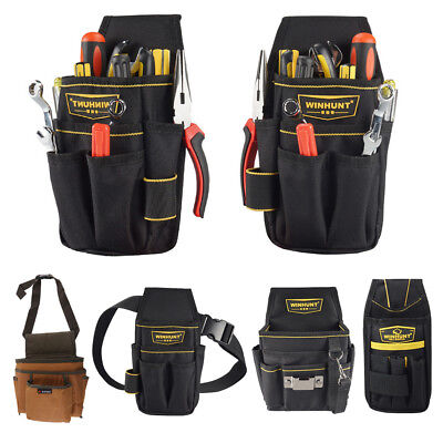 Multi-functional Pockets Waist Bag Electrical Tool Pouch Technician Holder