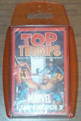 Top Trumps Cards - Marvel I Supereroi 3