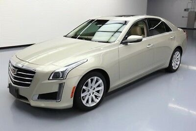 Cadillac CTS 2.0T Luxury Collection Texas Direct Auto 2015 2.0T Luxury Collection Used Turbo 2L I4 16V Automatic RWD