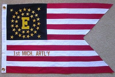 6th Michigan Cavalry Historical flag 3X5FT Banner US Seller