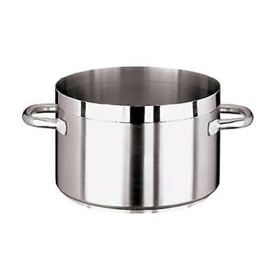 World Cuisine - 11107-45 - Grand Gourmet 46 1/2 qt Stainless Steel Sauce Pot