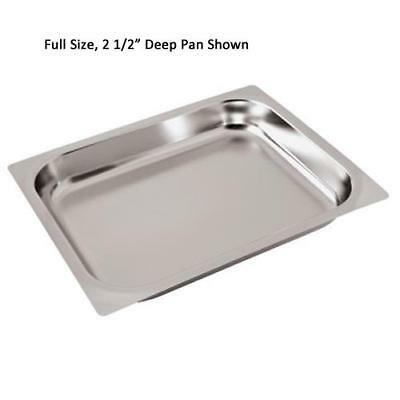 World Cuisine - 14303-06 - Two-Third Size 2 1/2 in Deep Steam Table Pan