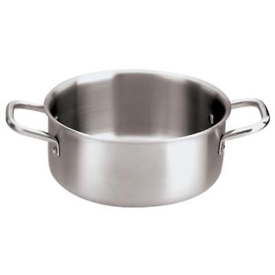 World Cuisine - 12509-24 - 5 qt Stainless Steel Sauce Pot