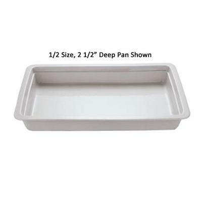 World Cuisine - 44338-06 - Fourth Size 2 1/2 in Deep Steam Table Pan