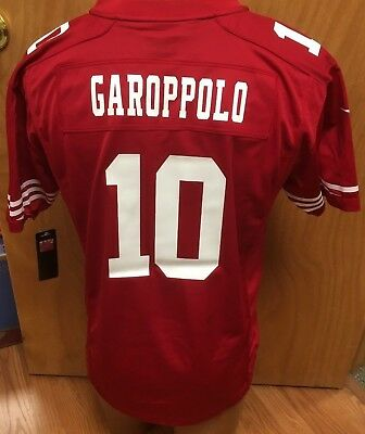 Discount NEW JIMMY GAROPPOLO SAN FRANCISCO 49ERS NIKE NFL YOUTH JERSEY SIZE  hot sale