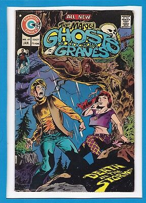 The Many Ghosts Of Doctor Graves #49_Jan 1975_Fine_Bronze Age Charlton Horror!