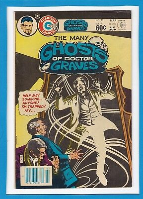 The Many Ghosts Of Doctor Graves #71_March 1982_Vf Minus_Bronze Charlton Horror!