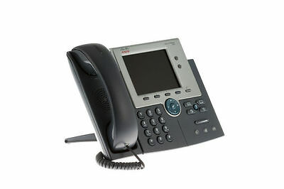 Cisco CP-7945G VoIP Color Display Business Phone With Handset / Stand / Cord