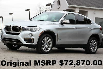 """BMW X6 xDrive 35i xLine 2017 xLine 19"""" Wheels Active Blind Spot Active Driving Assistant Silver Auto AWD"""