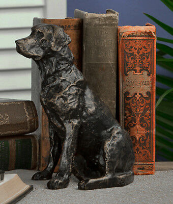 Sculptures - Labrador Retriever Sculpture - Bronze Finished Lab Figurine