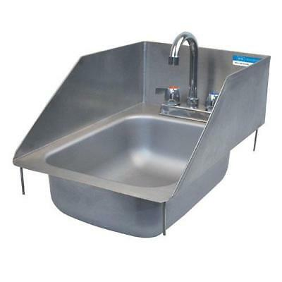 Commercial Drop-In Hand Wash Sink Stainless Steel Side Splashes