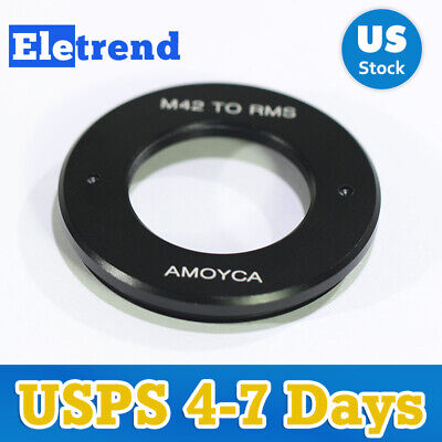 Lens Adapter Suit ForRMS Royal Microscopy SocietyLens to M42 Mount