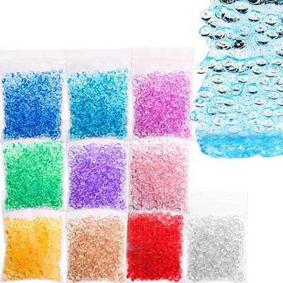Fishbowl Beads DIY Slime Decoration 7mm Diameter For Craft Tools OZ