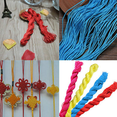 28 Mtrs 1mm Nylon Thread/Cord for Beads-Variety Color Fashion