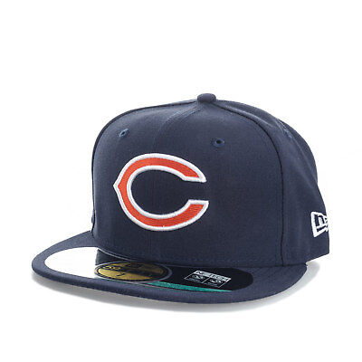 Mens New Era Onfield Chicago Bears 59Fifty Cap In Navy From Get The Label