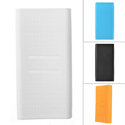 For Xiaomi 20000mAh Power Bank Silicone Protective Case Sleeve Rubber Cover Case