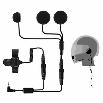 PAMA Motorbike Closed Face Helmet Speaker & Microphone System For Cobra PMR