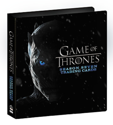 Game of Thrones Season 7 Official Album / Binder with Promo - Series Seven + P1