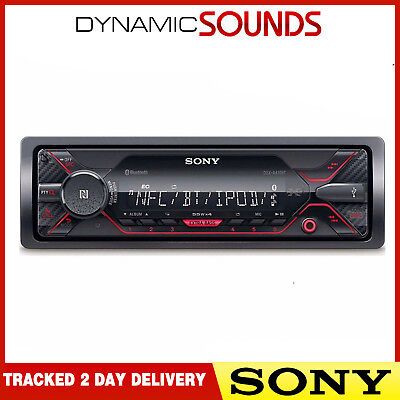 Sony DSX-A410BT Bluetooth Aux USB MP3 Android iPod iPhone Mechless Stereo