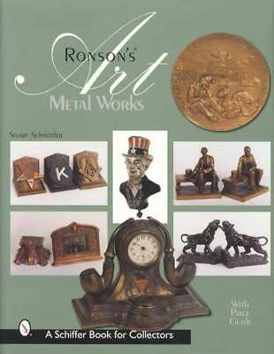 Ronson Metalware Collector Guide 1920s-1942  Art Deco Lighters Lamps Figures Etc
