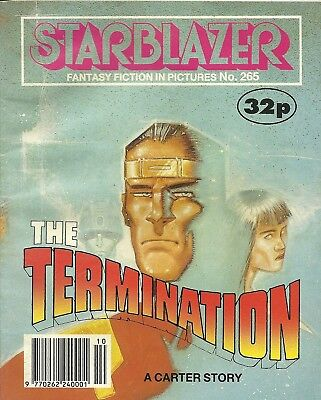Starblazer 265 Space Fiction Adventure In Pictures Gemini 2000 Science Library