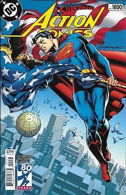 DC Universe Superman Action Comics issue 1000 Limited 1970's Decades variant