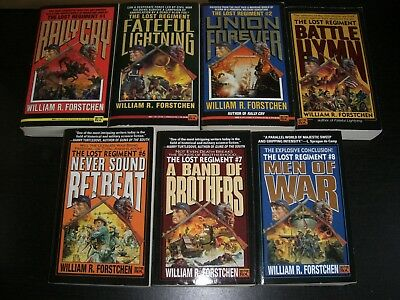7 x Assorted Science Fiction Books by William R. Forstchen