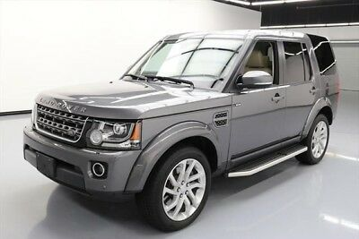 Land Rover LR4 HSE Texas Direct Auto 2016 HSE Used 3L V6 24V Automatic AWD SUV Premium