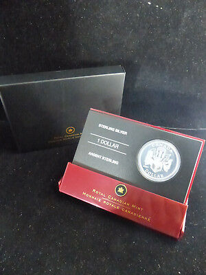 2007 Canada Sterling Silver 1 Dollar Coin Celebration Of The Arts
