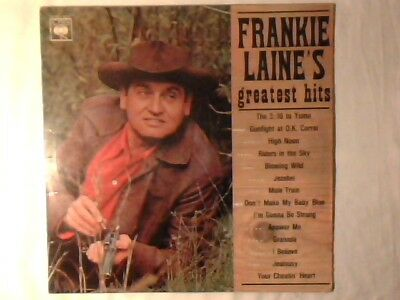 FRANKIE LAINE 'S greatest hits lp ITALY UNIQUE RARISSIMO VERY RARE!!!