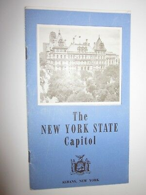 1940/50's Vintage The New York State Capitol Albany NY Booklet Dewey Governor