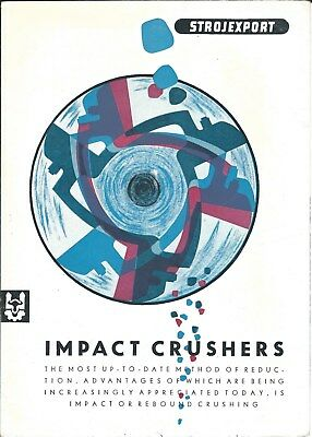 Equipment Brochure - Strojexport - Impact Crushers - Rock Quarry Mining (E4388)
