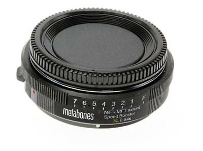 Metabones Speed Booster XL 0.64x Adapter for Nikon G Lens to   Micro Four Third