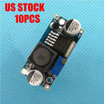 10X LM2596S 3A DC-DC Power Supply Buck Converter Adjustable Step Down Module KB