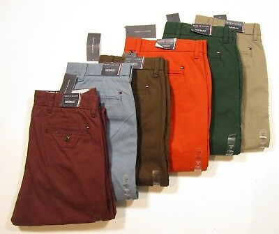 Tommy Hilfiger Men's Custom Fit Light Weight Chino Pants