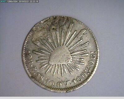 1830 Mexican 2 Reale ( 74-259 )