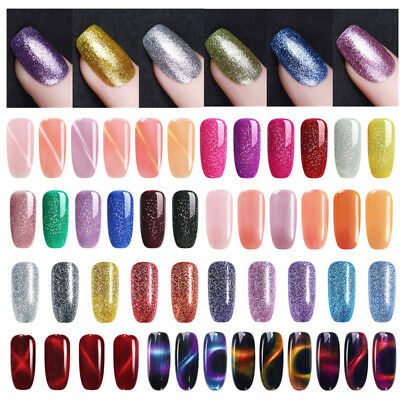7.5ml Chameleon Soak Off UV Gel Polish Cat Eye Nail Tips Varnish Decor UR SUGAR