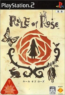 Used PS2  Rule of Rose SONY PLAYSTATION 2 JAPAN IMPORT
