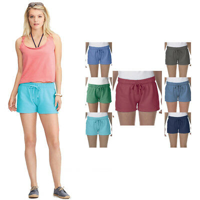 Damen Hot Pants French Terry Shorts Kurze Hose Baumwolle Stoff Sexy Panty  jeans 413d96ae41