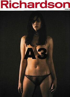 RICHARDSON Magazine A3 Sorrenti Terry Subculture Photography SIGNED by Andrew R
