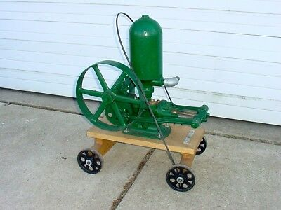 Antique Myers Water Pump On Cart 4 Use With Hit Miss Gas Engine