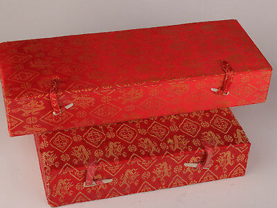 4 Silk Cloth Jewelry Box Ladies Receive Decorative Antique Collection