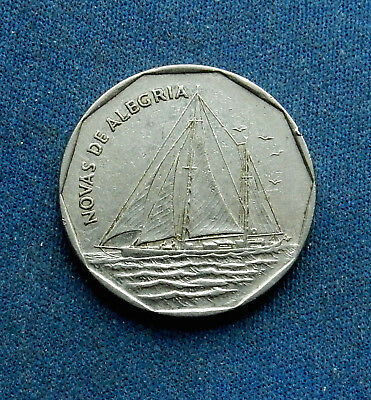 Cape Verde 20 Escudos, 1994. Sailing ship