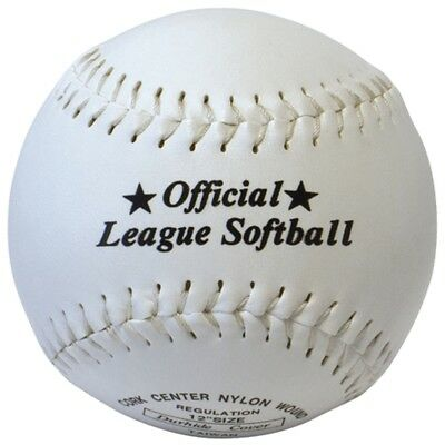"""12"""" Synthetic Leather Softball - New Sporting Goods Official Baseball Sports"""