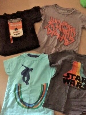 Mini Boden Little lords of liverpool star wars 3 4 youth boys t shirt lot