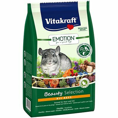 Vitakraft Emotion BEAUTY all ages , CHINCHILLA -600g-chinchillafutter COMIDA