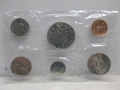 1987 Canadian Uncirculated Coin Set-No Envelope