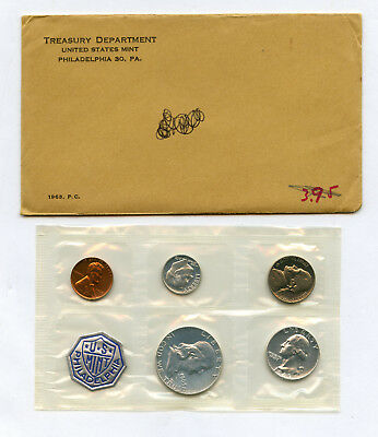 1963 US Silver Proof Set With Original US Mint Envelope With Writing On It